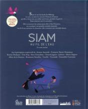 Siam, au fil de l'eau - 4ème de couverture - Format classique