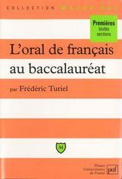 L'oral de français au baccalauréat - Intérieur - Format classique