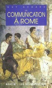 La communication à rome - Intérieur - Format classique