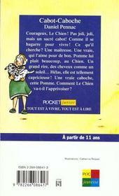 Cabot-caboche - 4ème de couverture - Format classique