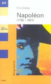Napoleon, 1769-1821 - Intérieur - Format classique