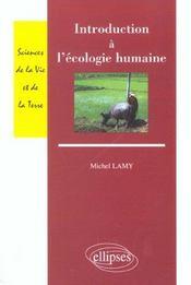 Introduction A L'Ecologie Humaine - Intérieur - Format classique