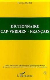 Dictionnaire cap-verdien-francais - Intérieur - Format classique