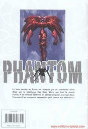 Phantom t.3 - 4ème de couverture - Format classique