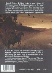 La chronique des immortels t.1 ; au bord du gouffre - 4ème de couverture - Format classique