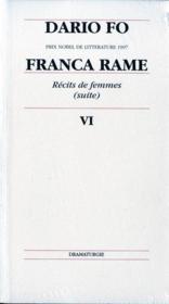 T6 dario fo - Couverture - Format classique