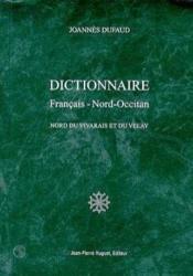 Dictionnaire français-nord-occitan - Couverture - Format classique