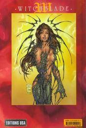 Witchblade T.12 - 4ème de couverture - Format classique