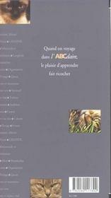 L'Abcdaire Du Chat - 4ème de couverture - Format classique