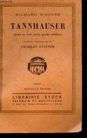 Tannhauser - Couverture - Format classique