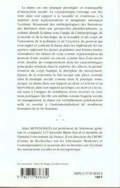 Sociopoetique De La Danse - 4ème de couverture - Format classique