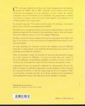 Le Grand Livre Des Mathematiques Exercices Corriges Prepa Scientifique 1re & 2e Annee - 4ème de couverture - Format classique