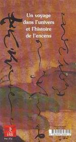 Arts de l'encens - 4ème de couverture - Format classique
