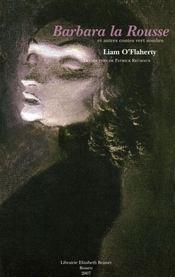 Barbara la rousse et autres contes vert sombre - Intérieur - Format classique
