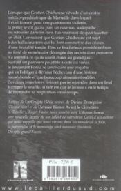 L'équarisseur des calanques - 4ème de couverture - Format classique