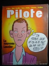 Revue Pilote n°100. Le nouveau Lauzier - Couverture - Format classique