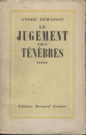 Le Jugement Des Tenebres. - Couverture - Format classique