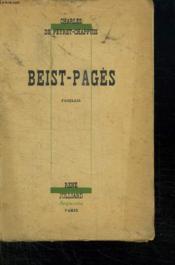 Beist Pages. - Couverture - Format classique