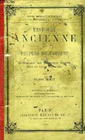 HISTOIRE ANCIENNE DES PEUPLES DE L'ORIENT, CLASSE DE 6e - Couverture - Format classique