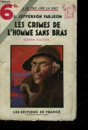 Les Crimes De L'Homme Sans Bras - Couverture - Format classique