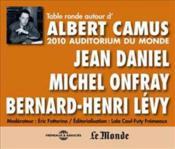 Table ronde autour d'Albert Camus - Couverture - Format classique