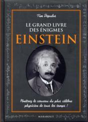 Le grand livre des énigmes d'Einstein - Couverture - Format classique