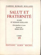 Salut et Fraternité. - Couverture - Format classique