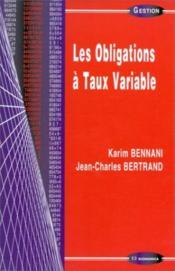 Les Obligations A Taux Variable - Couverture - Format classique