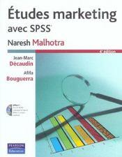 Etudes marketing avec spss - Intérieur - Format classique