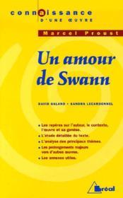 Un amour de Swann, de Marcel Proust - Couverture - Format classique