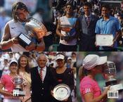 Roland-Garros 2007 ; Le Livre Officiel - 4ème de couverture - Format classique