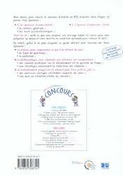 L Integrale Du Concours Ifsi 3e Edition - 4ème de couverture - Format classique