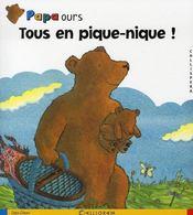 Papa ours ; tous en pique-nique - Intérieur - Format classique
