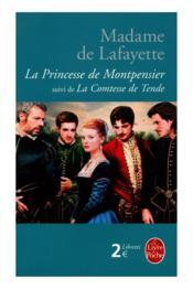 La princesse de Montpensier ; la comtesse de Tende - Couverture - Format classique