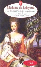 La princesse de Montpensier ; la comtesse de Tende - Intérieur - Format classique
