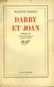 Darby Et Joan. - Couverture - Format classique