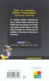 Gare Au Carnage Amedee Petipotage - 4ème de couverture - Format classique