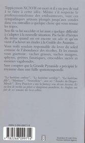 Les annales du Disque-monde T.7 ; pyramides - 4ème de couverture - Format classique