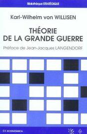 Theorie De La Grande Guerre - Intérieur - Format classique