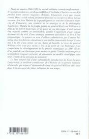 Theorie De La Grande Guerre - 4ème de couverture - Format classique