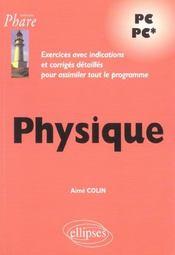 Physique Pc Pc* Exercices Avec Indications Et Corriges Detailles Pour Assimiler Tout Le Programme - Intérieur - Format classique