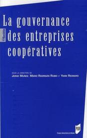 La gouvernance des entreprises coopératives - Intérieur - Format classique