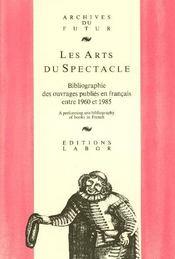 Les arts du spectacle - Intérieur - Format classique