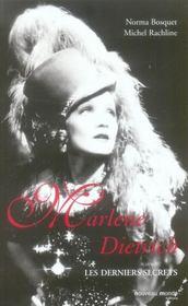 Marlène Dietrich, les derniers secrets - Intérieur - Format classique