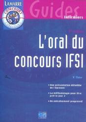 L Oral Du Concours Ifsi 3eme Edition (3e édition) - Intérieur - Format classique