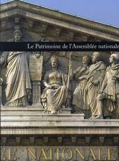 Le patrimoine de l'assemblée nationale - Intérieur - Format classique