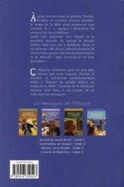 Les messagers de l'alliance t.4 ; l'oracle de Babylone - 4ème de couverture - Format classique