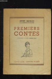 Premiers Contes. - Couverture - Format classique