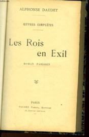 Oeuvres Completes - Les Rois En Exil - Couverture - Format classique