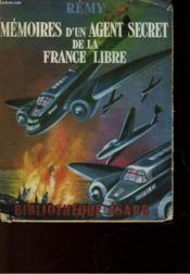 Memoires D4un Agent Secret De La France Libre - Juin 1940 - Juin 1942 - Livre Deuxieme - Couverture - Format classique